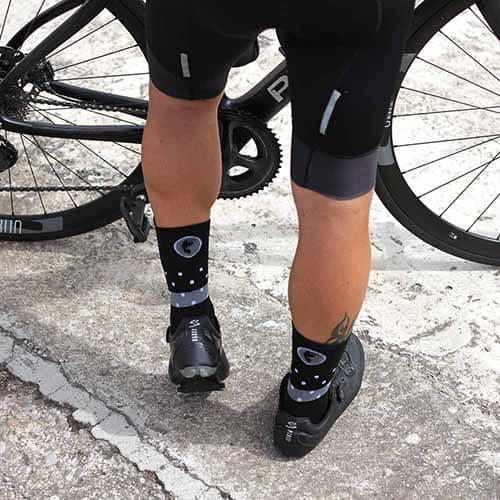 calcetines de ciclista