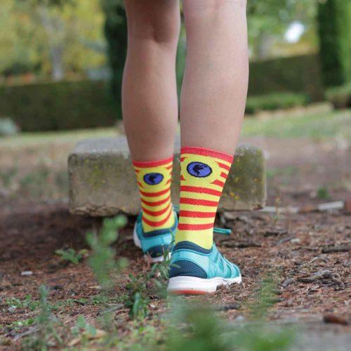 calcetines running senyera