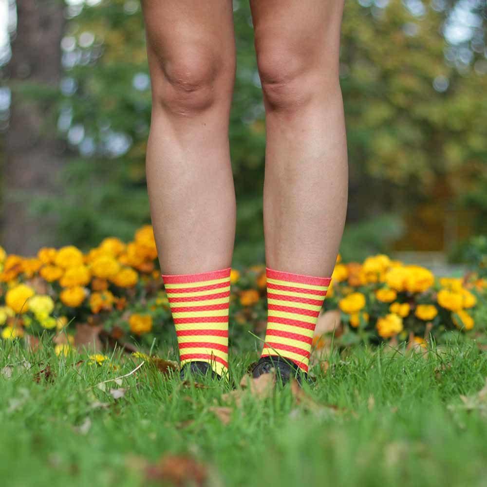 calcetines senyera