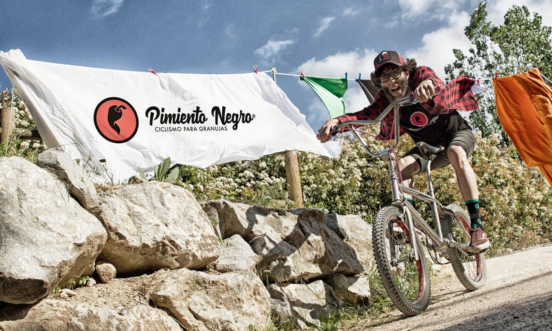 Calcetines ciclismo pimiento negro_