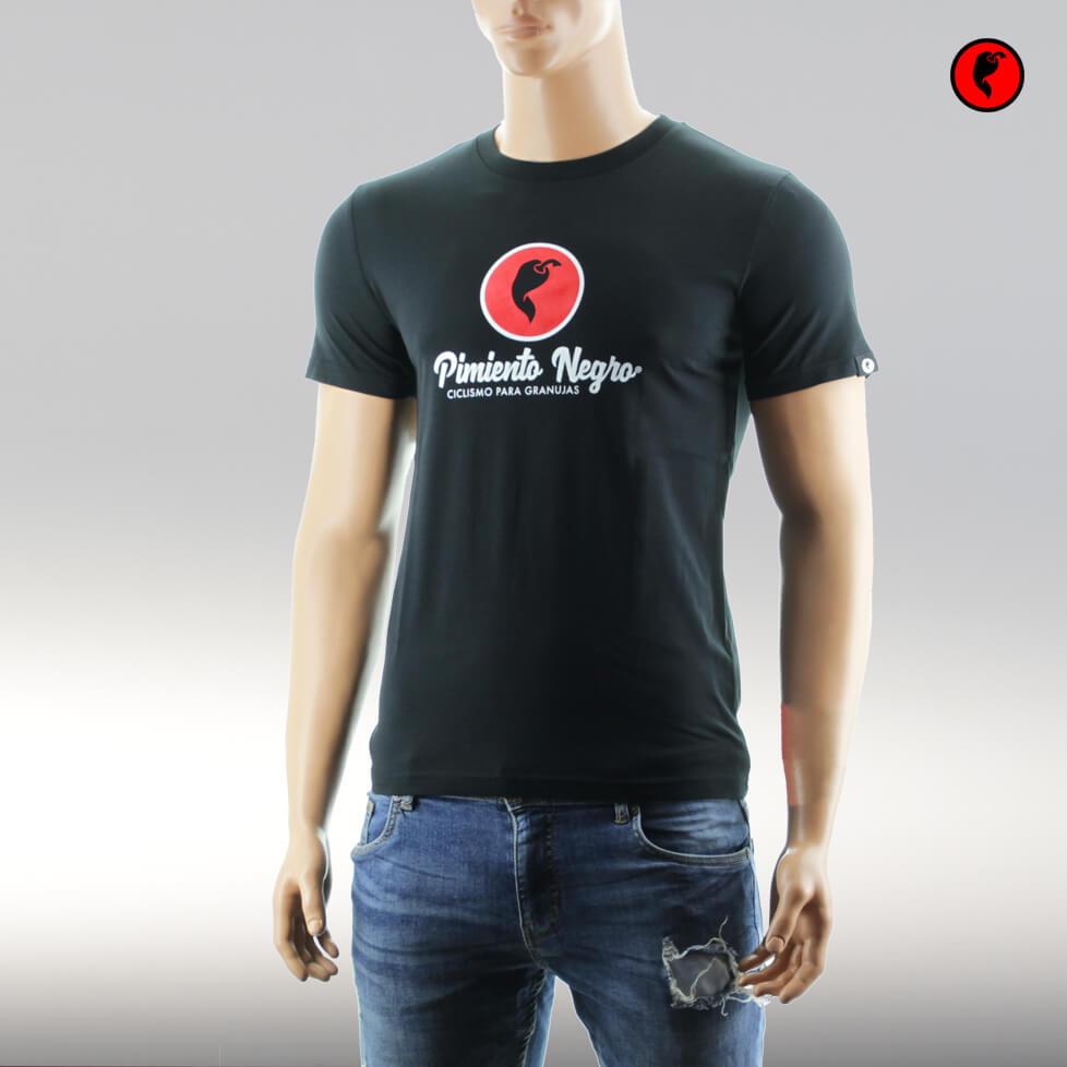 Camiseta de ciclismo original negra
