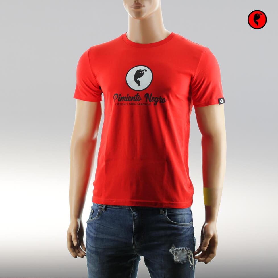 Camiseta de ciclismo original rojo