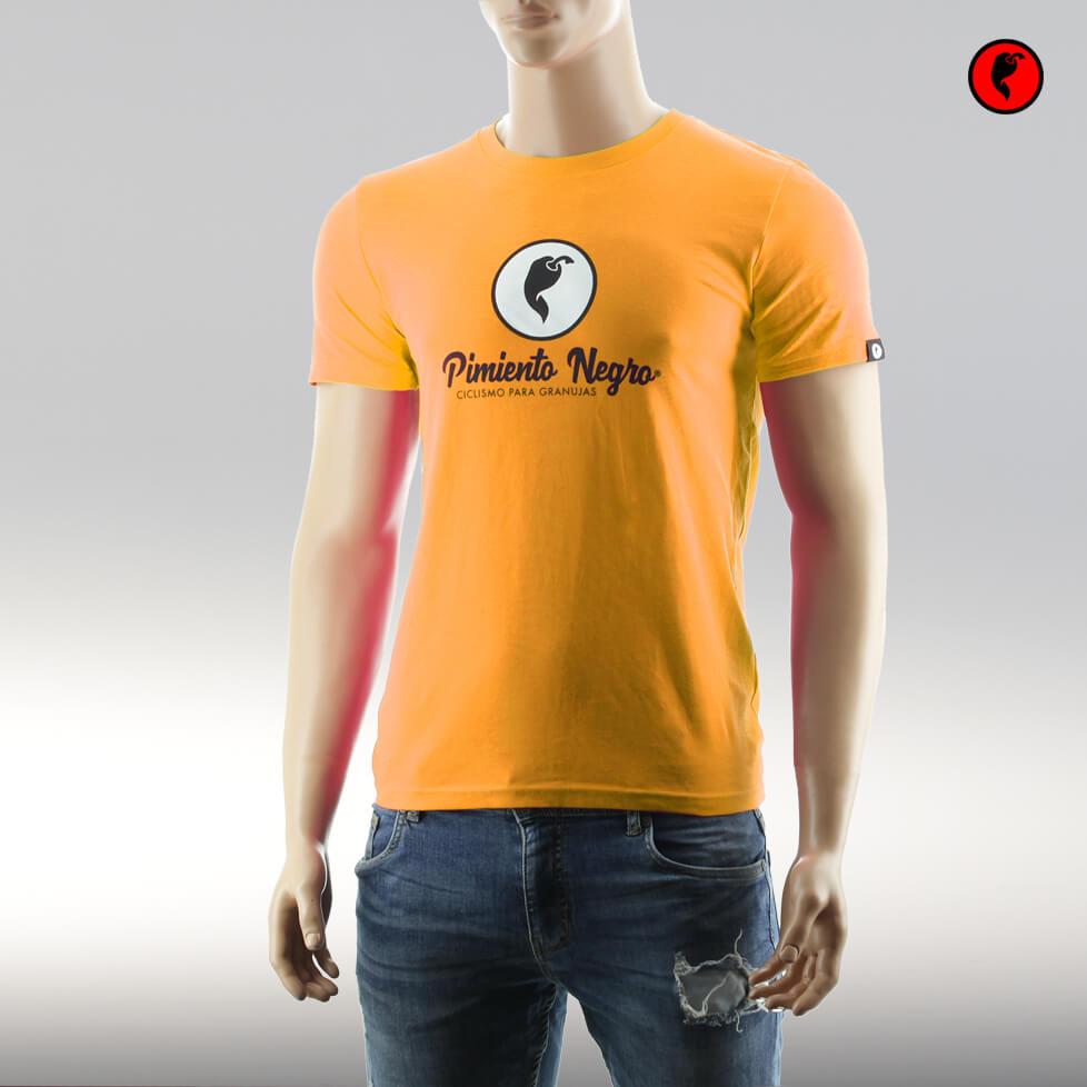 Camiseta de ciclismo original ocre