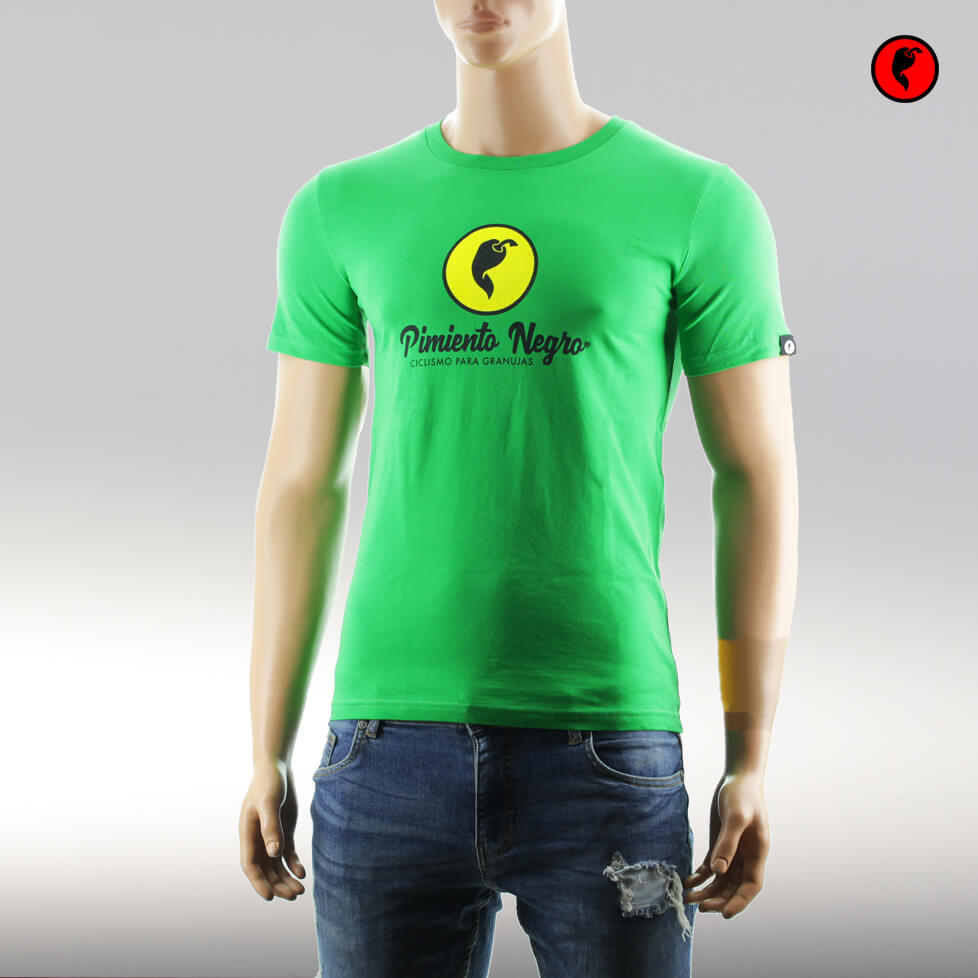 Camiseta de ciclismo original verde