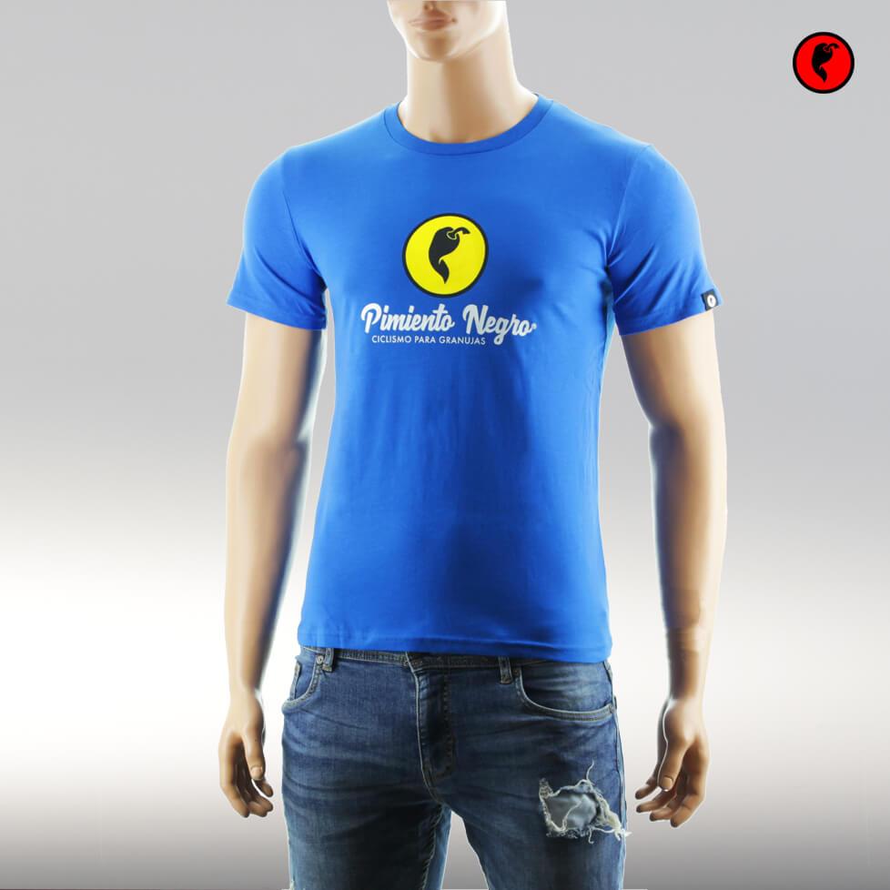 Camiseta de ciclismo original azul