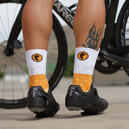 calcetines ciclista