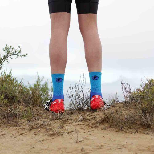 Calcetines ciclismo diseño innovador
