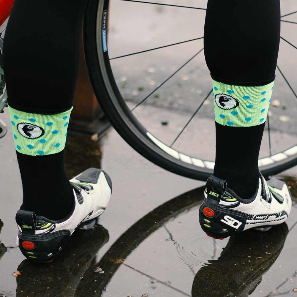 Calcetines térmicos para ciclistas