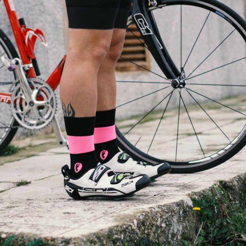 Calcetines ciclismo retro