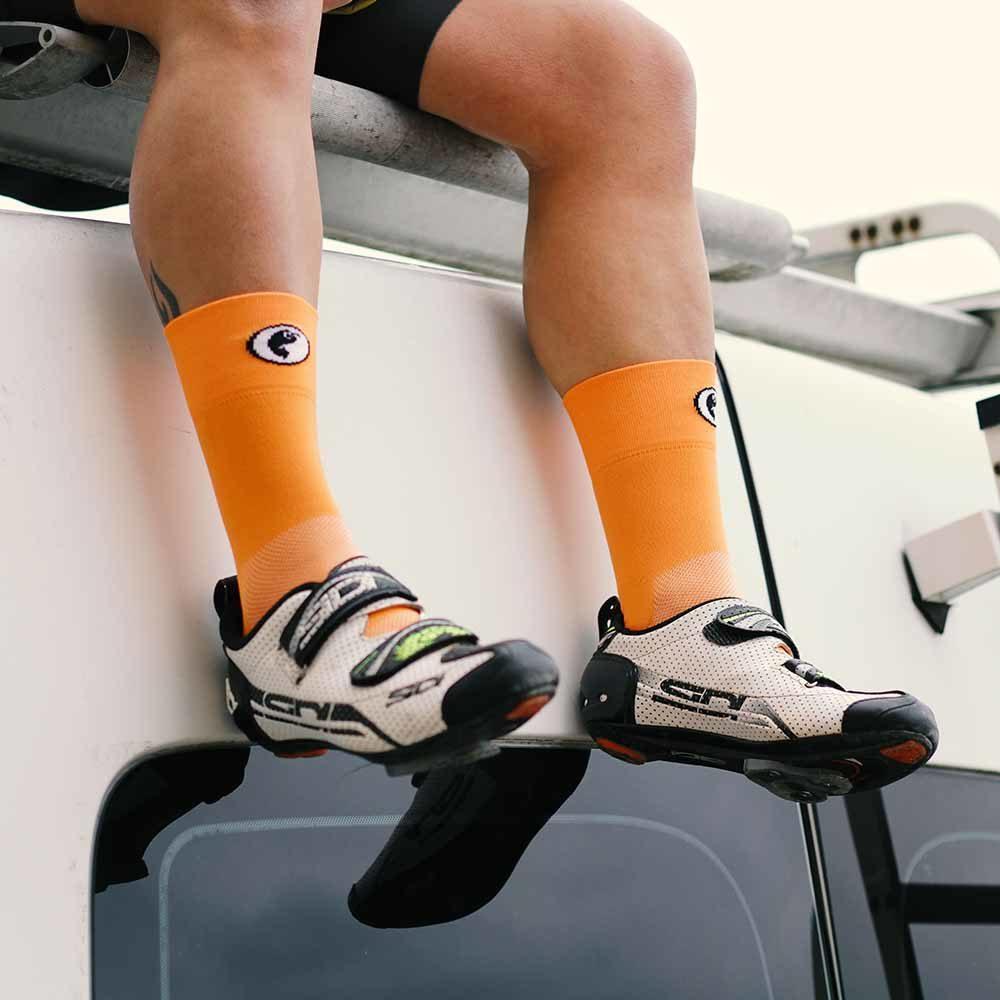 Calcetines bicicleta caña alta
