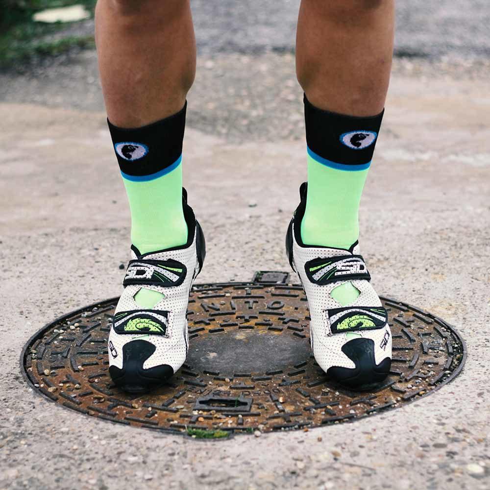 Calcetines bici caña alta