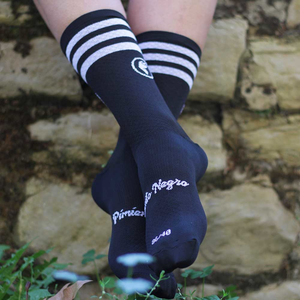 Calcetines ciclismo negros