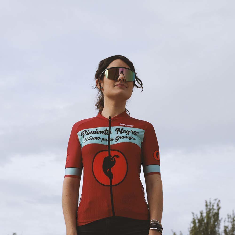 gafas de ciclismo moderna