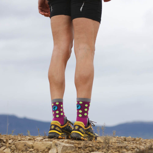 Calcetines trail running divertidos
