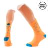 Calcetines ciclismo bicis naranjas